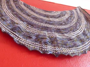 Diana's Shawl hand knitting pattern by Gradiance Yarns | www.gradianceyarns.co.uk